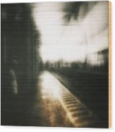 Train To The Fourth Dimension Wood Print