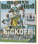 Training Camp Kickoff What It Takes To Get Ready For Some Sports Illustrated Cover Wood Print