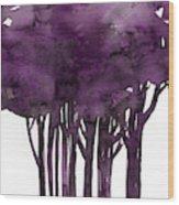 Tree Impressions 1i Wood Print