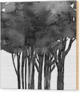 Tree Impressions 1l Wood Print