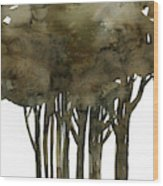Tree Impressions No. 1a Wood Print