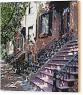 Tremont Street Boston Wood Print
