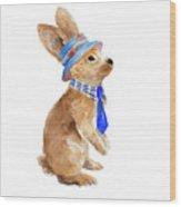 Trendy Meadow Buddy I (tie) Wood Print