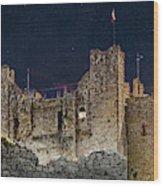 Trim Castle Wood Print