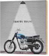 Triumph Trophy Tr6 Wood Print