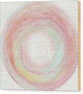 Tropical Swirl I Wood Print