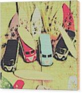 Tropical Trippers 1960 Wood Print