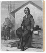 Tsar Peter I Of Russia Working On An Wood Print