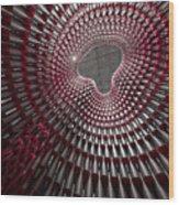 Tubular Construct Wood Print