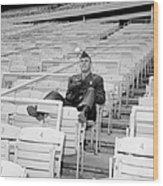Tug Mcgraw, A Marine Reservist Now Wood Print