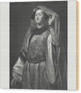 Turandot, Fictional Character By Gozzi Wood Print