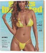 Tyra Banks Swimsuit 2019 Sports Illustrated Cover Wood Print