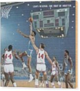 Ucla Lew Alcindor, 1968 Ncaa Semifinals Sports Illustrated Cover Wood Print