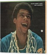 Ucla Lew Alcindor, 1969 Ncaa National Championship Sports Illustrated Cover Wood Print