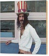 Uncle Zappa Wants You Wood Print