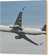 United Airlines Boeing 767-322 Wood Print