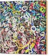 Universe Galaxy Wood Print