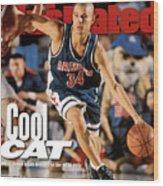 University Of Arizona Miles Simon, 1997 Ncaa National Sports Illustrated Cover Wood Print