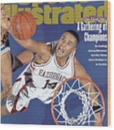 University Of Arkansas Corey Beck, 1995 Ncaa Midwest Sports Illustrated Cover Wood Print