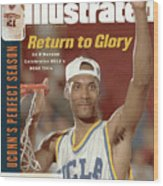 University Of California Los Angeles Ed Obannon, 1995 Ncaa Sports Illustrated Cover Wood Print