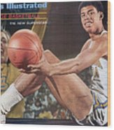 University Of California Los Angeles Lew Alcindor Sports Illustrated Cover Wood Print