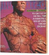 University Of Cincinnati Danny Fortson, 1996-97 College Sports Illustrated Cover Wood Print