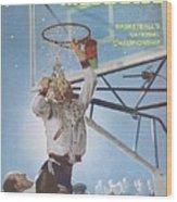 University Of Cincinnati Larry Shingleton, 1962 Ncaa Sports Illustrated Cover Wood Print