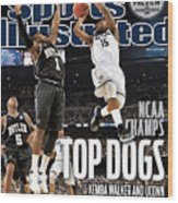 University Of Connecticut Vs Butler University, 2011 Ncaa Sports Illustrated Cover Wood Print