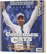 University Of Kentucky Coach Tubby Smith, 1998 Ncaa Sports Illustrated Cover Wood Print