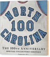 University Of North Carolina Basketball Memorabilia Sports Illustrated Cover Wood Print