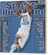 University Of North Carolina Harrison Barnes, 2011-12 Sports Illustrated Cover Wood Print