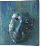 Shades Of Blue Sold Wood Print