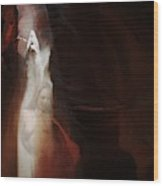 Upper Antelope Canyon Sun Shower Nymph Wood Print