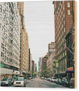 Upper East Side, New York City Wood Print