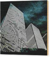Urban Grunge Collection Set - 13 Wood Print