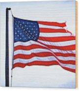 U.s. Flag 5 Wood Print
