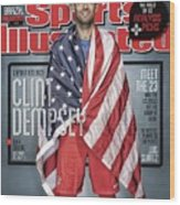 Us Mens National Team, 2014 Fifa World Cup Preview Issue Sports Illustrated Cover Wood Print