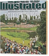 U.s. Open - Final Round Sports Illustrated Cover Wood Print