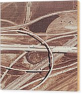 Usa, California, San Bernardino Wood Print