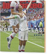 Usa Vs Netherlands, 2019 Fifa Womens World Cup Final Sports Illustrated Cover Wood Print