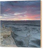 Utah Desert Sunrise Wood Print