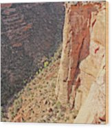 Valley Colorado National Monument 2884 Wood Print