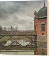 Vallo Castle Wooden Moat Bridge Wood Print