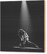 Van Halen Live At The Rainbow Wood Print
