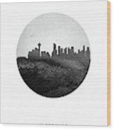 Vancouver Skyline Cabcva04 Wood Print