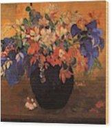 Vase Of Flowers 1896 Wood Print