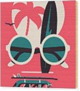 Vector Modern Flat Wall Art Poster Wood Print