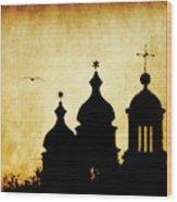 Venice Silhouette Wood Print