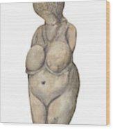 Venus Of Kostenski Wood Print