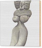 Venus Of Merhgargh Wood Print